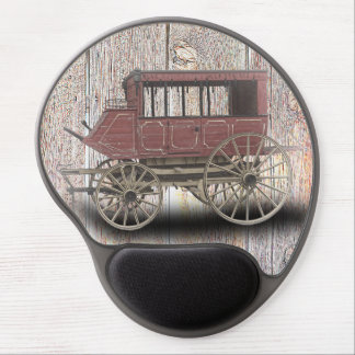 STAGE COACH GEL MOUSE PAD