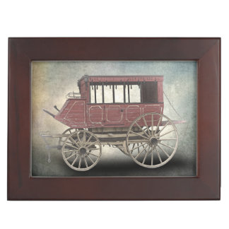 STAGE COACH KEEPSAKE BOX