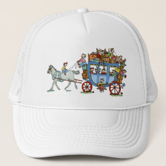 Stage Coach with Kids Cap