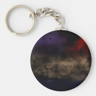 Stage Control Basic Round Button Key Ring