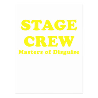 Stage Crew Masters of Disguise Postcards