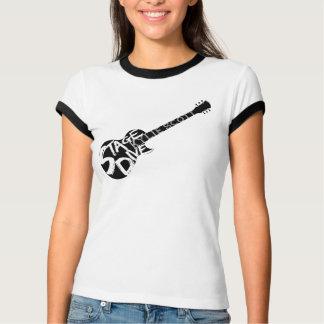 Stage Dive - Black Guitar T-Shirt