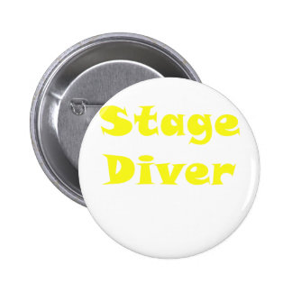 Stage Diver 6 Cm Round Badge
