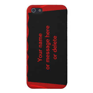 stage fame acting actor customize name background cover for iPhone 5/5S