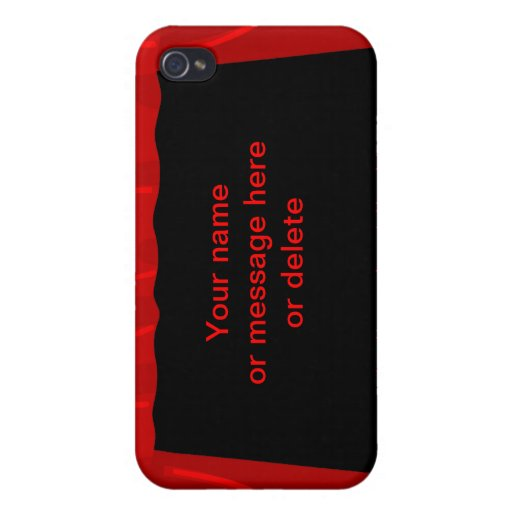stage fame acting actor customize name background case for iPhone 4