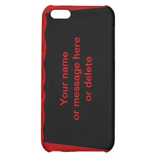 stage fame acting actor customize name background iPhone 5C case
