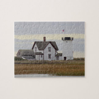 Stage Harbor Lighthouse Jigsaw Puzzle