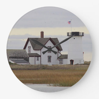 Stage Harbor Lighthouse Large Clock