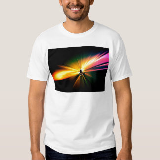 Stage Lights in Abstract Tee Shirts