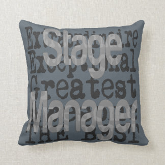 Stage Manager Extraordinaire Cushion
