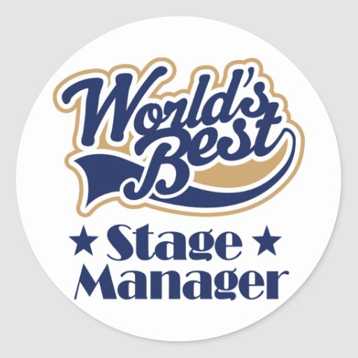 Stage Manager Gift Sticker