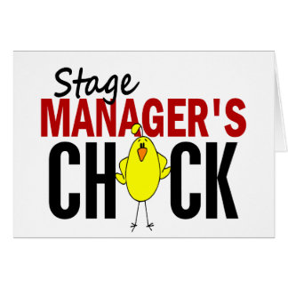 Stage Manager s Chick Card