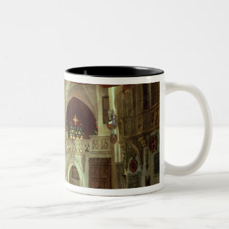 Stage model for the opera Two-Tone coffee mug