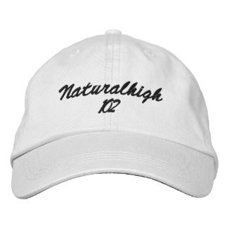 Stage name embroidered hat