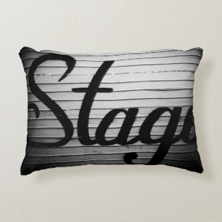 """Stage"" Photograph Decorative Cushion"