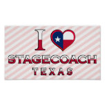 Stagecoach, Texas Poster