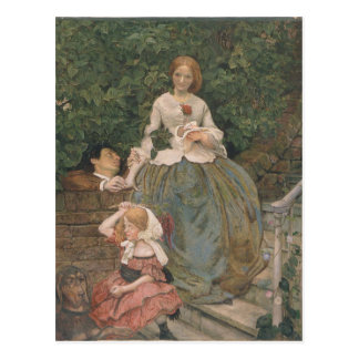 Stages of Cruelty by Ford Madox Brown Postcard
