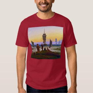 Stages of Life - Seascape - Caspar David Friedrich T Shirts