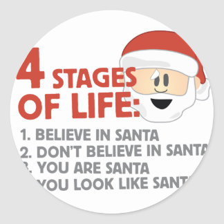 Stages of Life Round Sticker