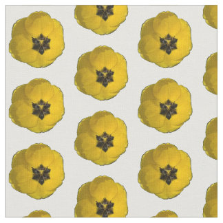 Staggered Yellow Tulip Fabric