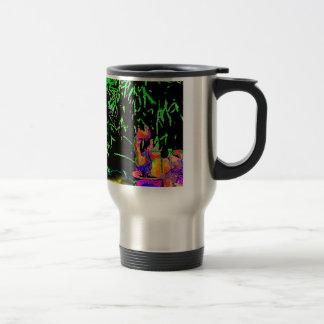 Staghorn Fern GO GREEN1a jGibney The MUSEUM Zazzle Travel Mug