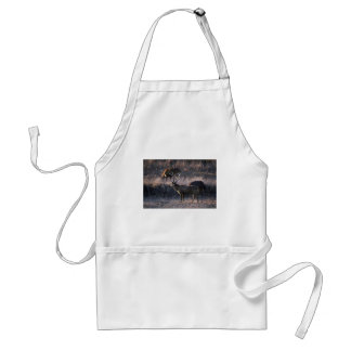 Stags in grass standard apron