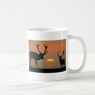 stags sunset.jpg coffee mug