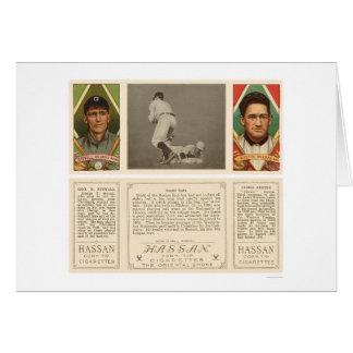 Stahl Red Sox Browns Baseball 1912 Card