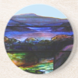 Stain Glass Nature Coaster