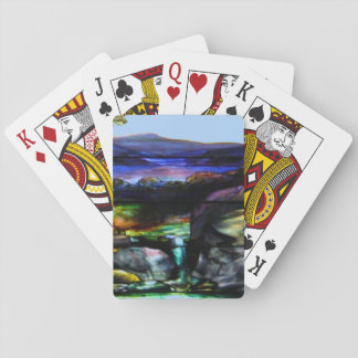 Stain Glass Nature Playing Cards