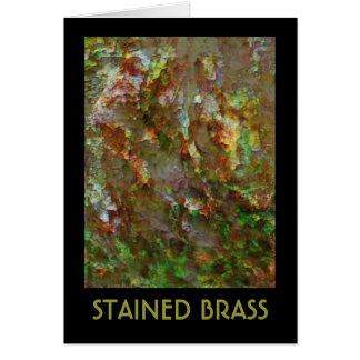 Stained Brass Card