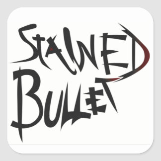 Stained Bullet Sticker
