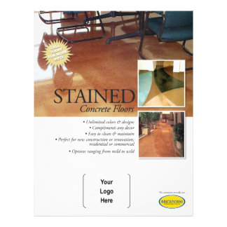 Stained Concrete Flyer