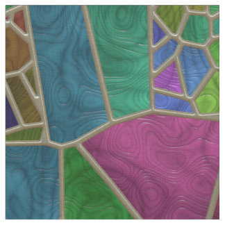 Stained Glass 9 Custom Fabric
