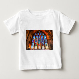 Stained Glass Abbey Window Baby T-Shirt