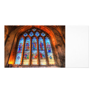 Stained Glass Abbey Window Card