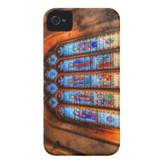 Stained Glass Abbey Window iPhone 4 Cases