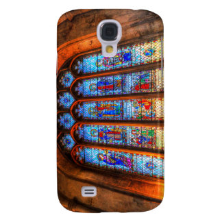 Stained Glass Abbey Window Samsung Galaxy S4 Cover