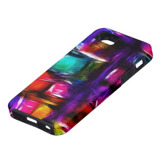 Stained Glass Abstract [iPhone4] Case For The iPhone 5