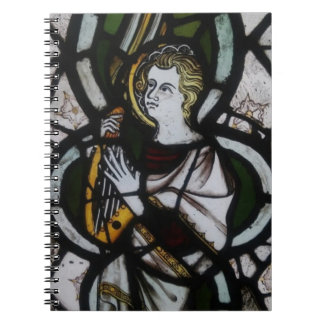 Stained Glass Angel Notebook