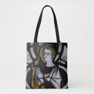 Stained Glass Angel Tote