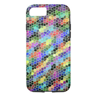 stained glass apple iphone case design smartphone