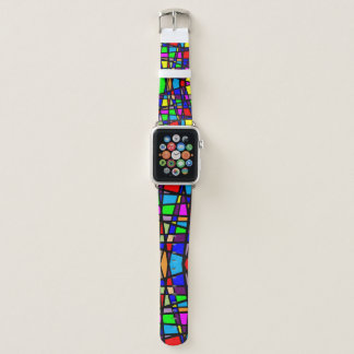 Stained Glass Apple Watch Band