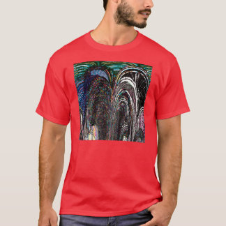 Stained Glass Arches T-Shirt