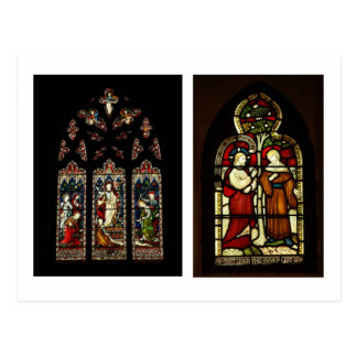 Stained Glass at Rochester Cathedral Postcards