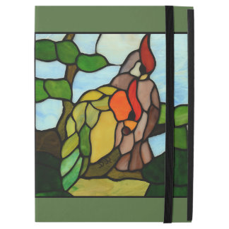 "Stained Glass Birds iPad Pro 12.9"" Case"