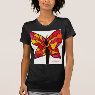 stained glass butterfly T-Shirt