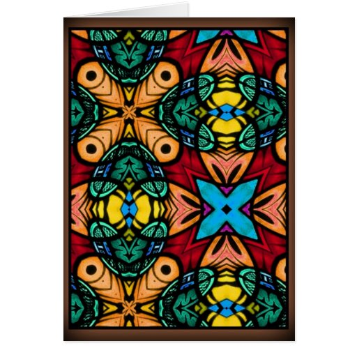 Stained Glass Greeting Cards