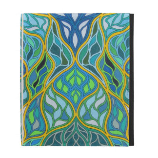 Stained Glass iPad Folio Covers