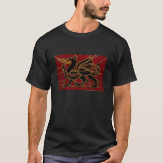 Stained Glass Celtic Dragon T-Shirt